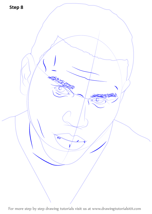 Learn How To Draw Chris Brown Singers Step By Step Drawing Tutorials Chris Brown Drawing Chris Brown Drawing Tutorial
