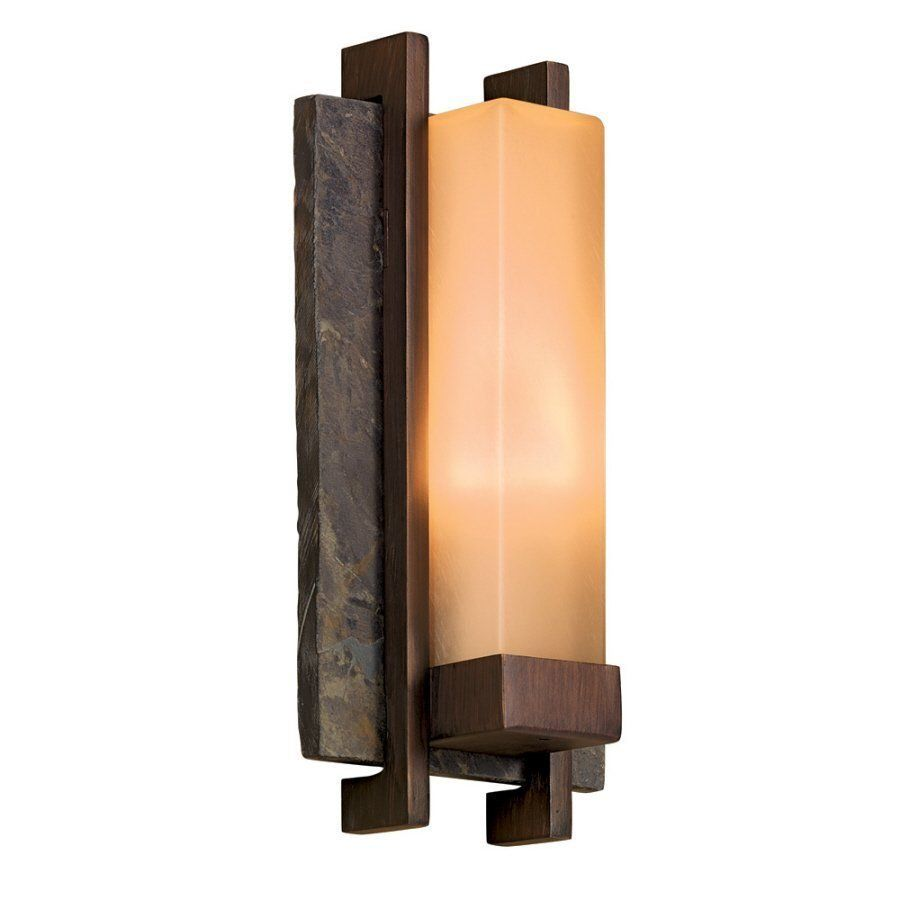 Outdoor Wall Lantern Lights Custom Shop Allen  Roth Vickery 14In Bronze Outdoor Wall Mounted Light At Decorating Design