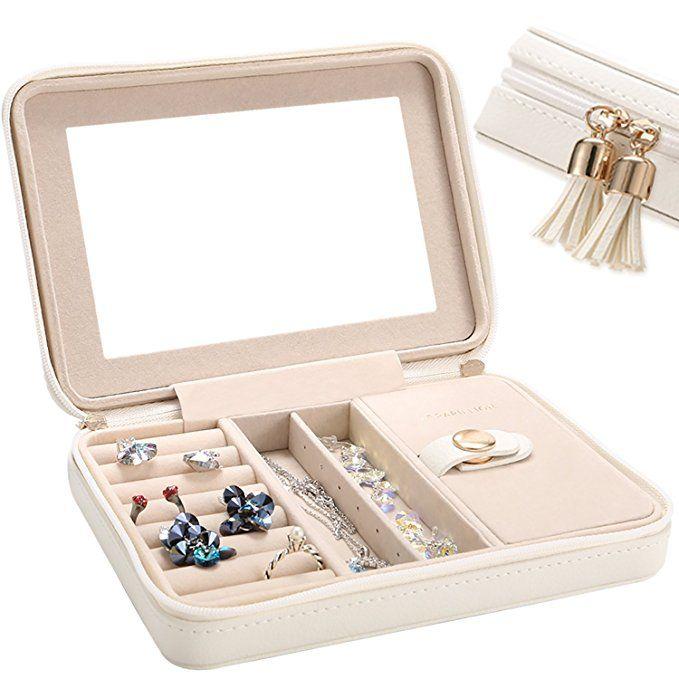 Mothers Day Gift Small Jewelry Box Travel Jewelry Box Jewelry