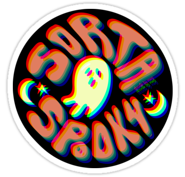Halloween Stickers Aesthetic.Sorta Spooky 3d Sticker Stickers In 2019 Laptop