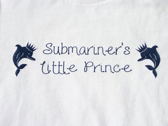 Available from https://www.etsy.com/uk/listing/163800628/submariners-little-prince-baby-vest? so cute, prices start at £6.99 x