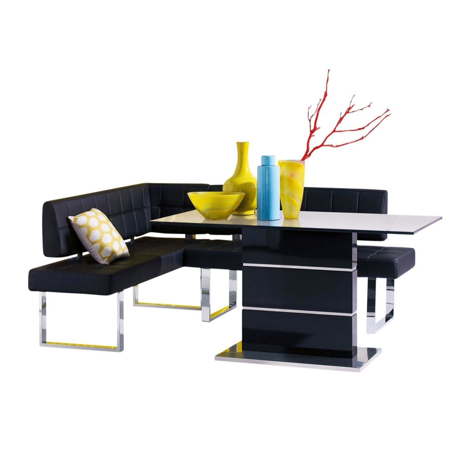 Petite 3 Piece Corner Bench Dining Package from Domayne line