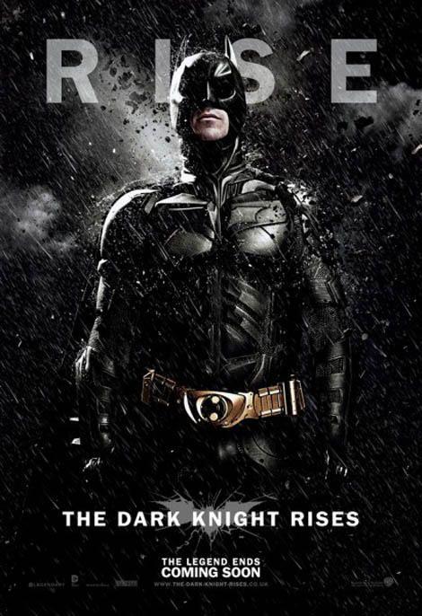 Christian Bale as Batman - looking tough