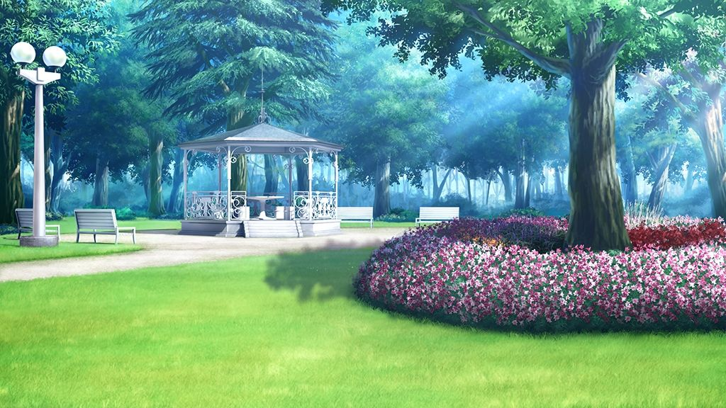 Anime Landscape Outdoor Anime Landscape Scenery Background
