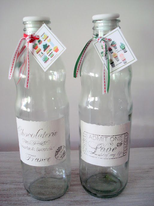 Botellas de vidrio decoradas buscar con google vasos vintage pinterest manualidades and - Botellas de cristal decoradas ...