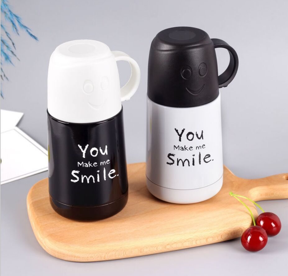 New 210ml Cartoon Thermos Stainless Steel Vacuum Flask Cup Thermal Thermos Bottle Insulated Tumbler Coffee Milk Mug In 2020 Thermos Bottle Vacuum Flask Coffee Milk