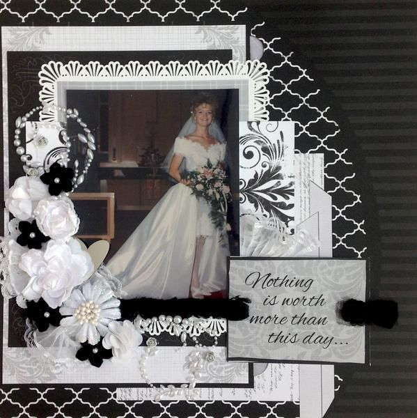 Wedding Scrapbook Page Titles  Quick Quotes  12 x 12