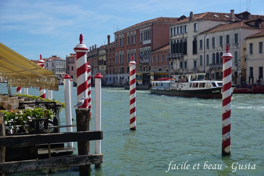 facile et beau - Gusta: Venedig Teil 12: Abreise