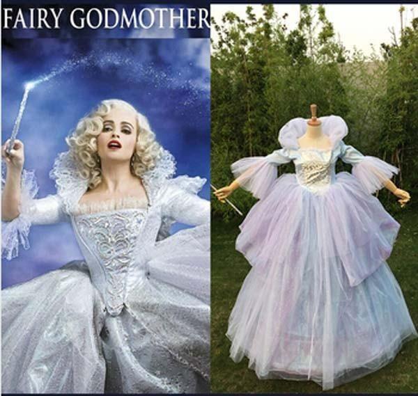 Hairstyle For Wedding Godmother: Cinderella Fairy Godmother Costume, Fairy Godmother Dress
