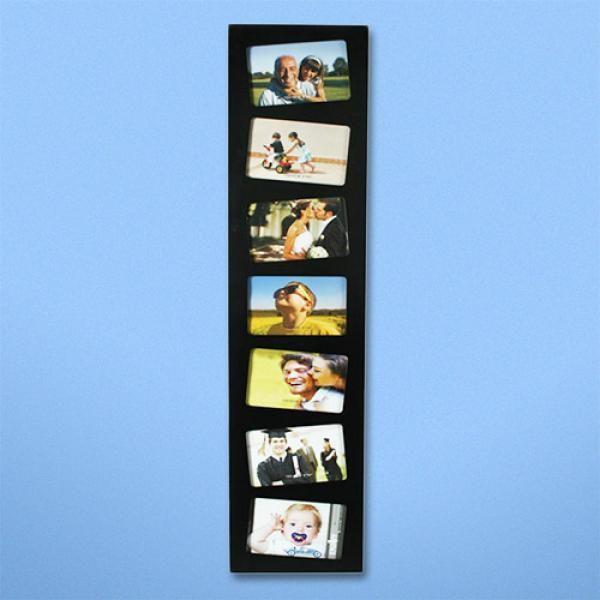 Portafotos Vertical con 7 fotos de 10 x 15 cm. Estupendo marco ...