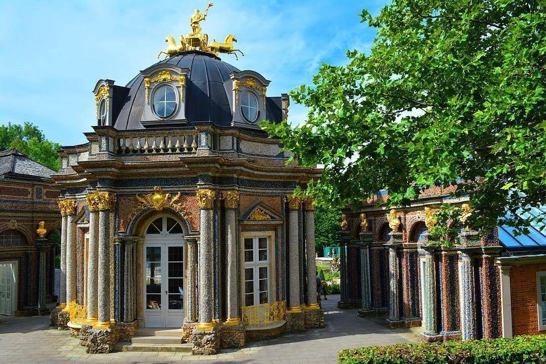 Der Sonnentempel In Der Eremitage In Bayreuth The Temple Of The Sun In The Hermitage In Bayreuth Bayreuth Visitb Germany Castles Franconia Culture Travel