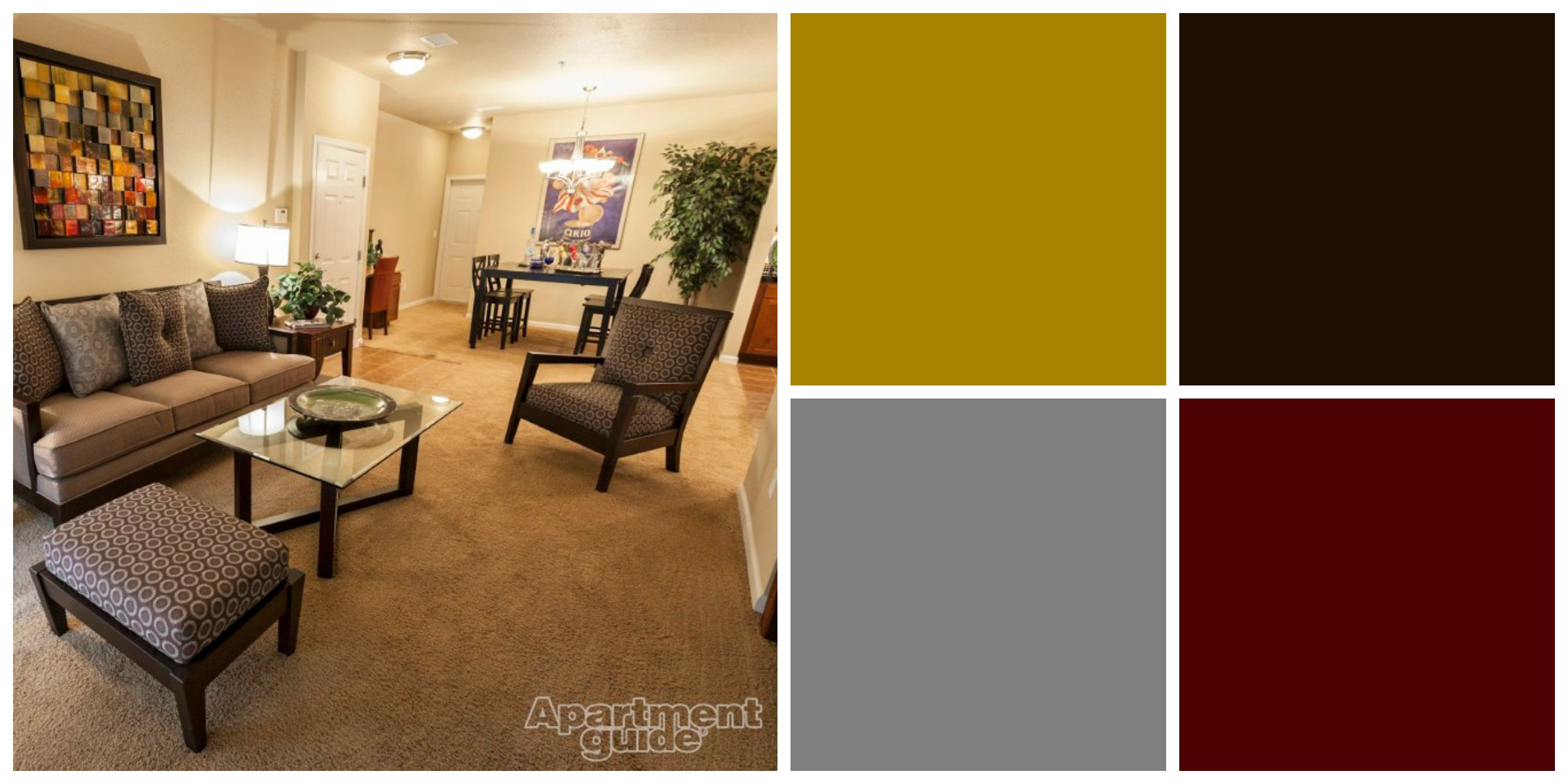 Avoid a bland theme by mixing different textures, patterns and ...