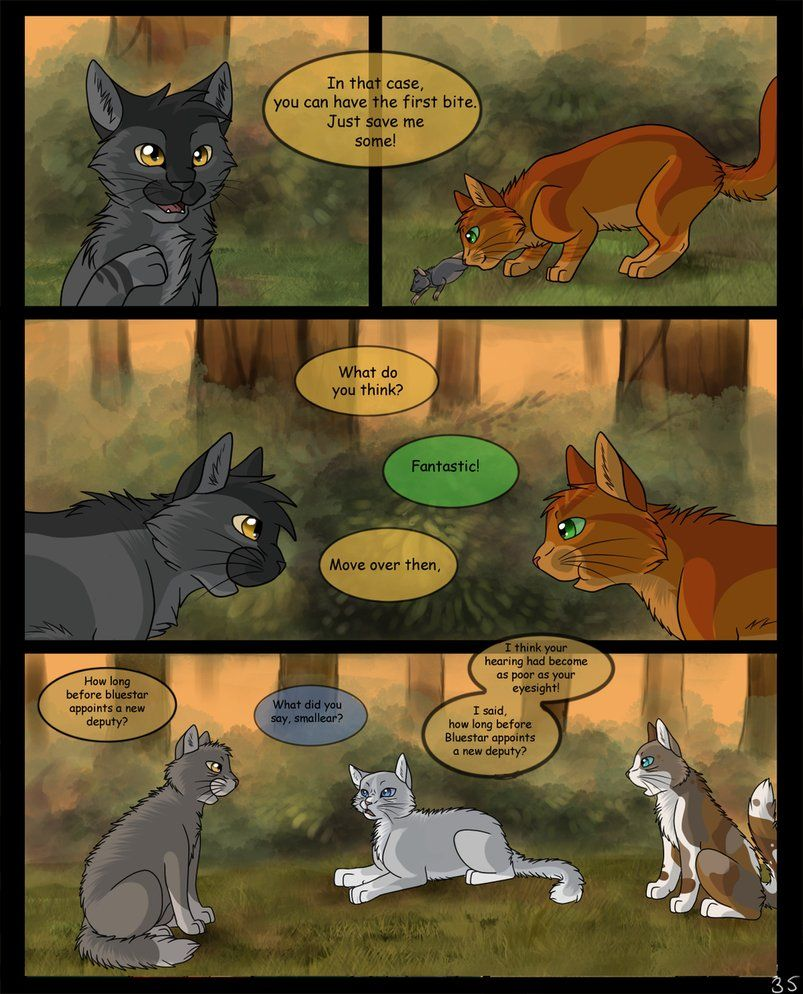 Warriors Into The Wild Movie By Erin Hunter: Page: 35 By SassyHeart On