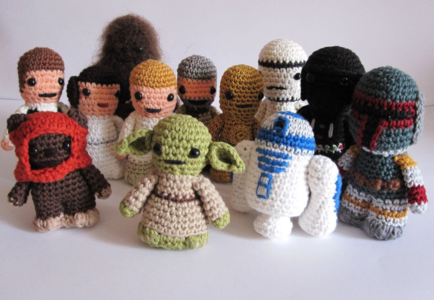 Amigurumi Star Wars Patterns : Crochet star wars characters pattern image collections knitting