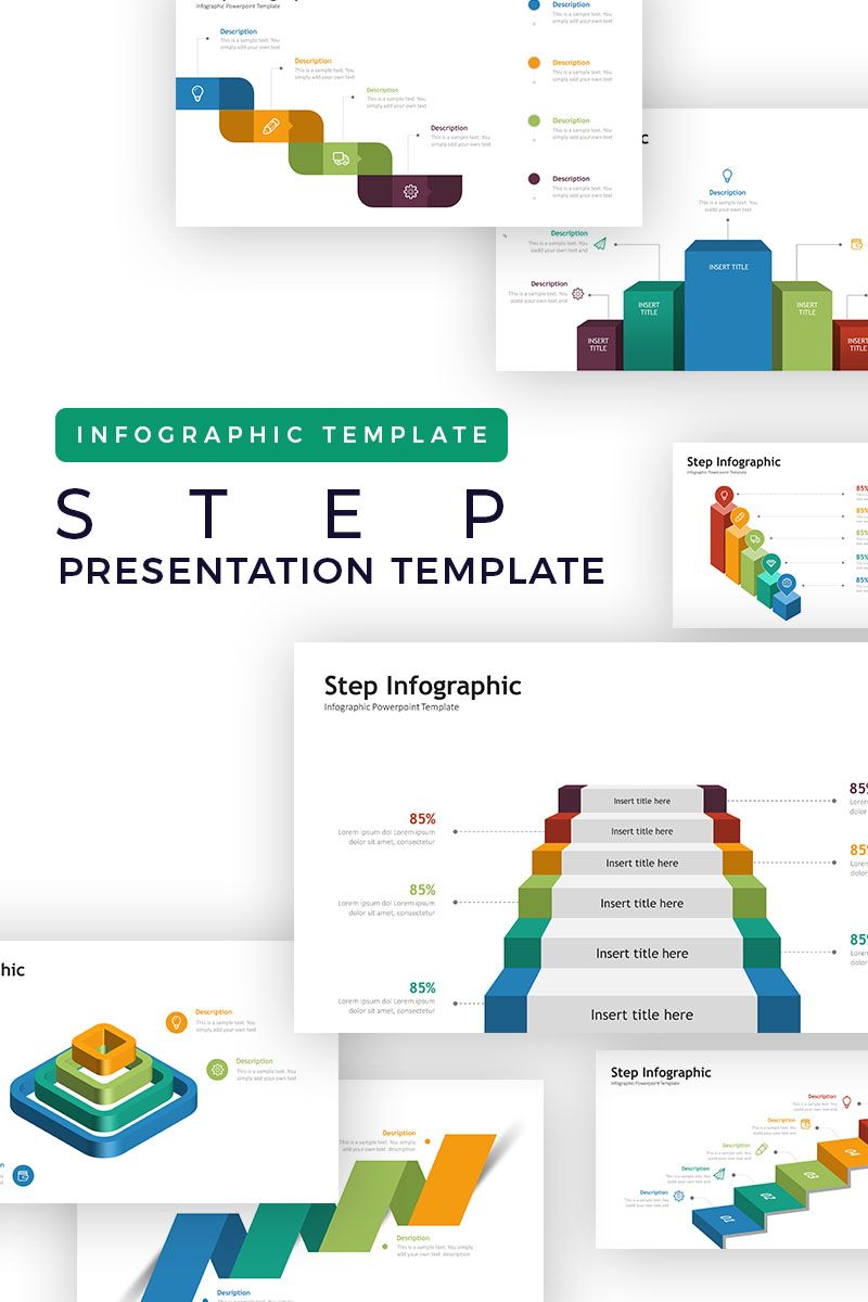 Step Infographic Presentation Asset Powerpoint Template 73477 Infographic Presentation Infographic Templates