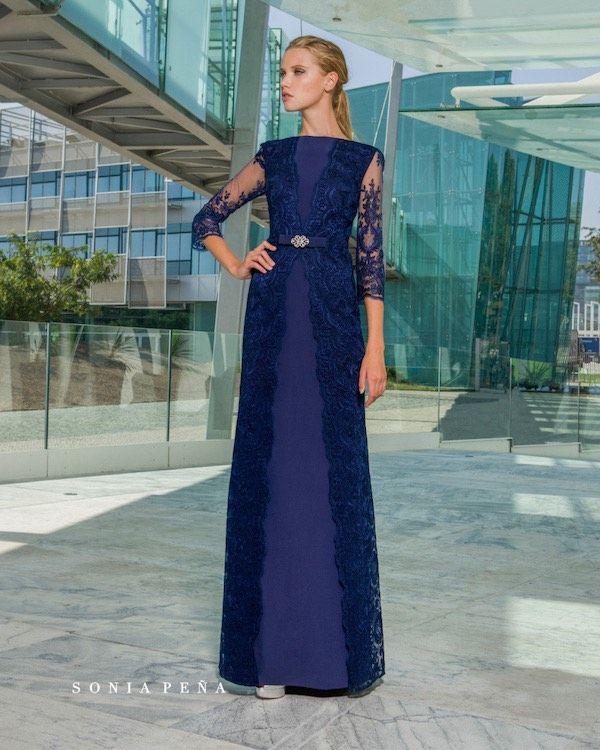 Vestidos fiesta 2018 azul