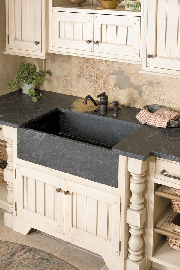 soapstone sink ideas rustic kitchen ideas cream cabinets soapstone on farmhouse sink with butcher block countertops, farmhouse sink with granite countertops, farmhouse kitchen soapstone counters,