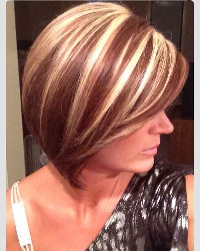 Chunky Highlights Hair Color Ideas Hairstylo In 2019 Red