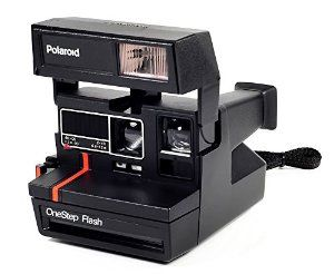 Vintage Polaroid One Step Flash Camera http://www.1lds.com/194775 ...