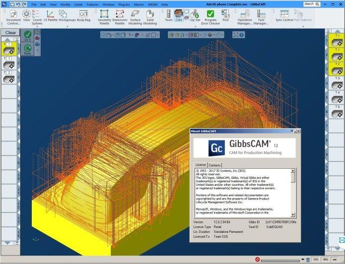 Programe with GibbsCAM V12 Build 12 0 2 0 full license