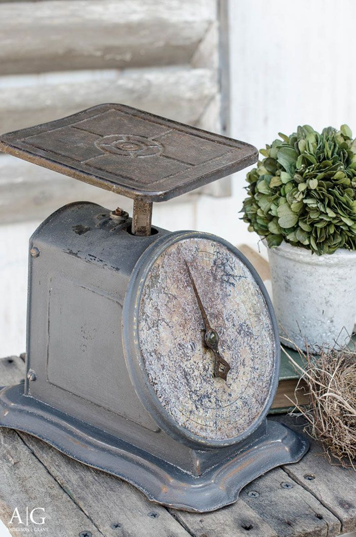 rusty vintage scale makeover with paint home design inspiration rh pinterest com
