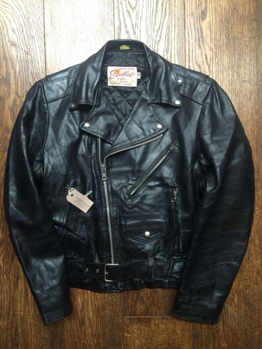 Excelled Biker Jacket Dustbowl Vintage Bristol Uk [ 1136 x 852 Pixel ]
