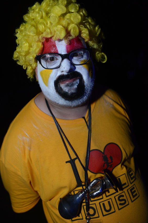 Upchuck the clown.
