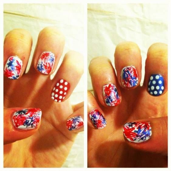 Tuesday's #NailCall: Red, White and Blue