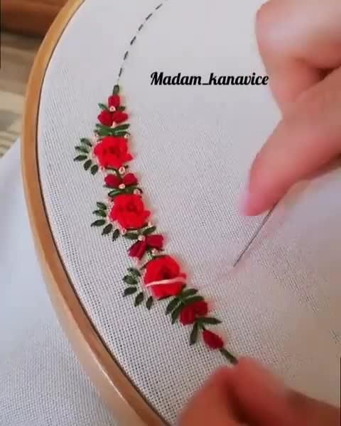 Start Your Own Online Embroidery Business From Home Video In 2020 Flower Embroidery Designs Embroidery Flowers Pattern Christmas Embroidery Patterns