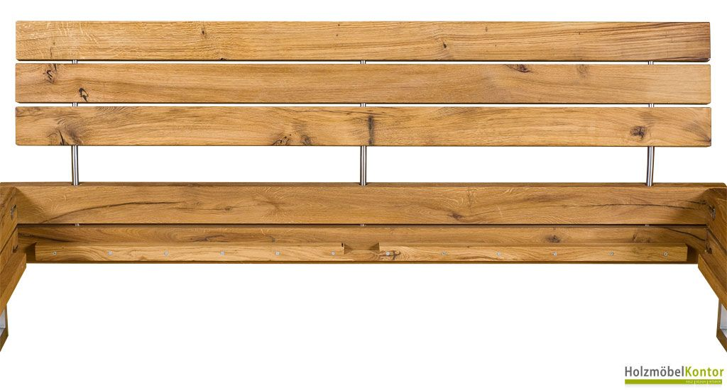 Das Besondere Bett Holz Edelstahl Mit Bildern Bett Holz