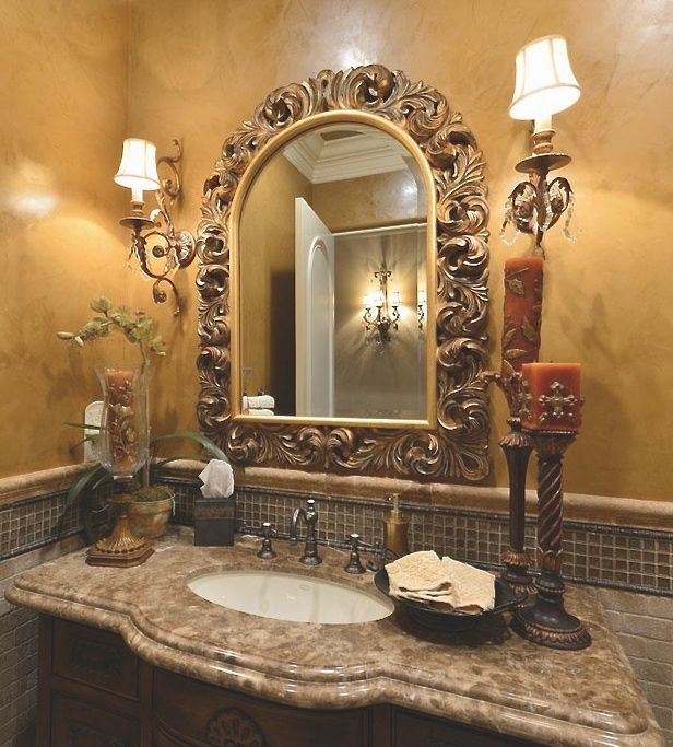 Powder Rooms & Bathrooms In 2019