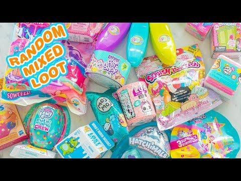 So MANY! Random And Mixed Loot Blind Bag Toys Unboxing #1 - YouTube #disneycups