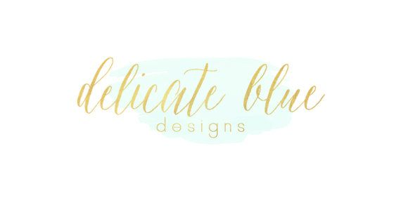 Gold and Turquoise blog header by jmcreates