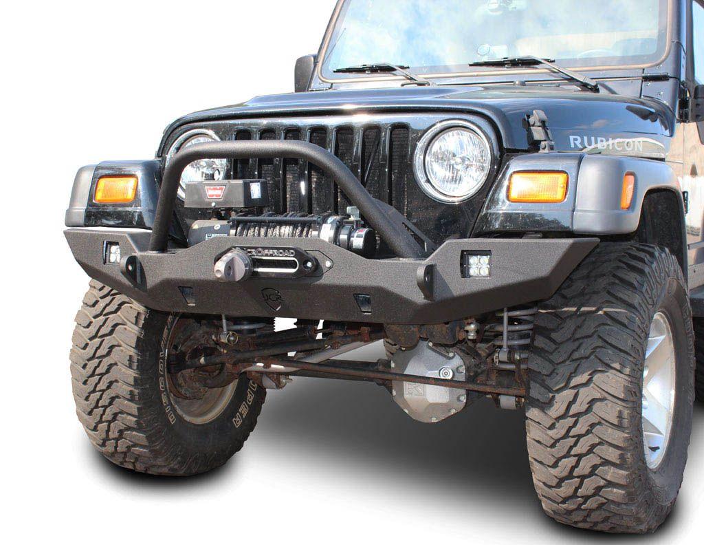 Jcr Offroad Wrangler Front Bumper Vanguard Full Width Jeep Tj