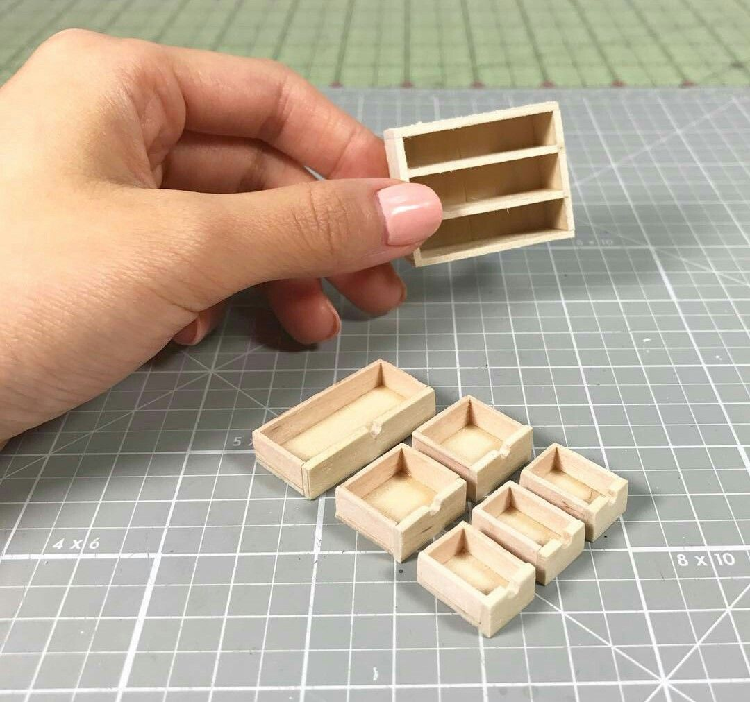 Idée Meuble Miniature Fimo Bois