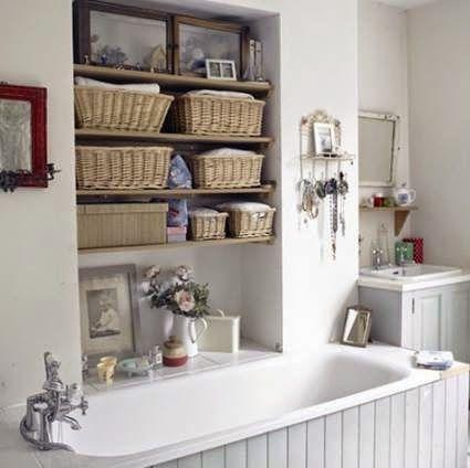 Decoração e Ideias: Inspiração para pequenas casas de banho