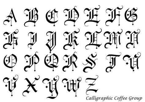 Pin De Maria Barreto En Ortografia Estilos De Letras Letras Para Tatuajes Letras Goticas Abecedario