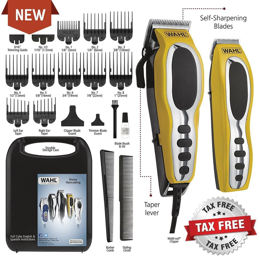Wahl Pro Hair Cutting Kit Professional Barber Machine Clipper