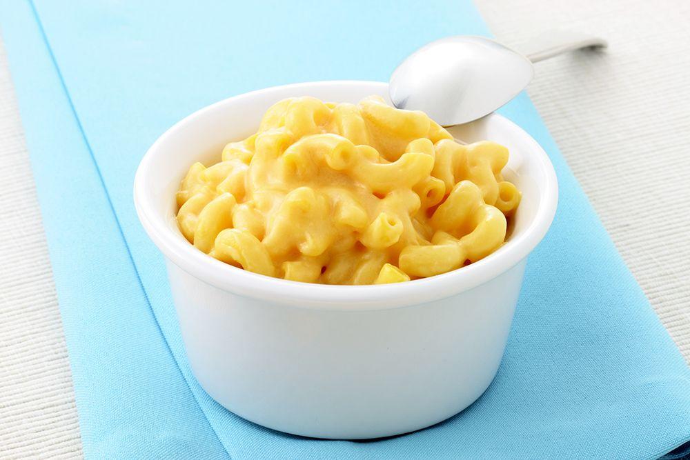 Een restje pasta dient hier voor de verandering  als basis voor een dessert…