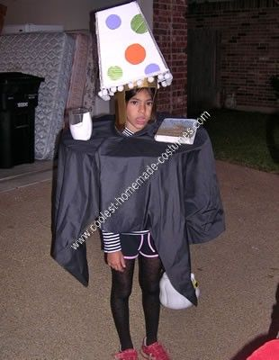 Homemade Table and L&shade Halloween Costume Idea On Halloween night with our costume on you will hear remarks like  Hey youu0027ll never guess what I saw ...  sc 1 st  Pinterest & Coolest Homemade Table and Lampshade Halloween Costume Idea ...