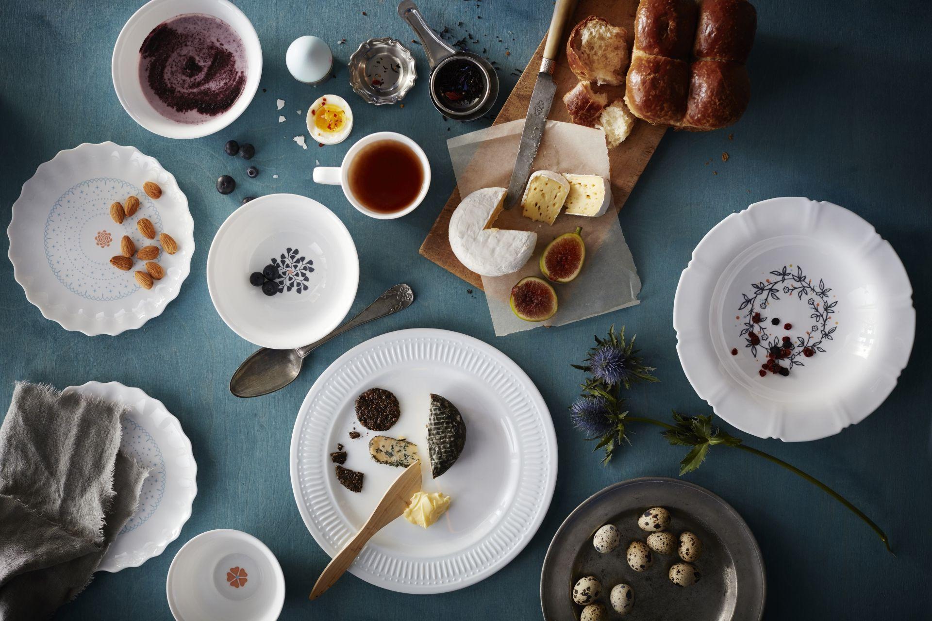 SANNING servies | #IKEA #IKEAnl #nieuw #gehard #slijtvast #zoet #romantisch #stijl #mixen #matchen #materialen #vormen #motieven #bloemen