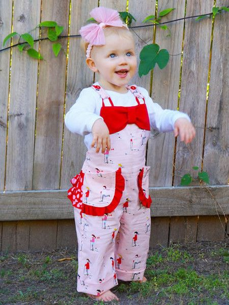 CHELSEA - Baby Ruffle Romper Sewing Pattern | Sewing patterns baby ...