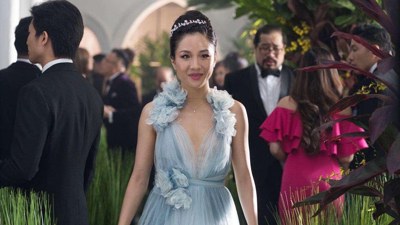 An American Born Chinese Economics Professor Accompanies Her Boyfriend To Singapore For His Best Friends Wedding O Crazy Rich Asians Marchesa Dress Tale Dress