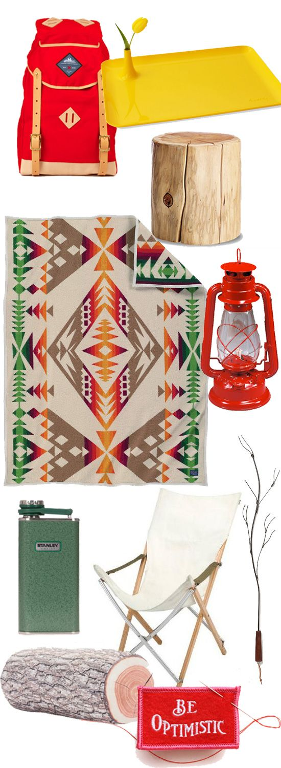 Dreaming of the days - Summer Camp Decor