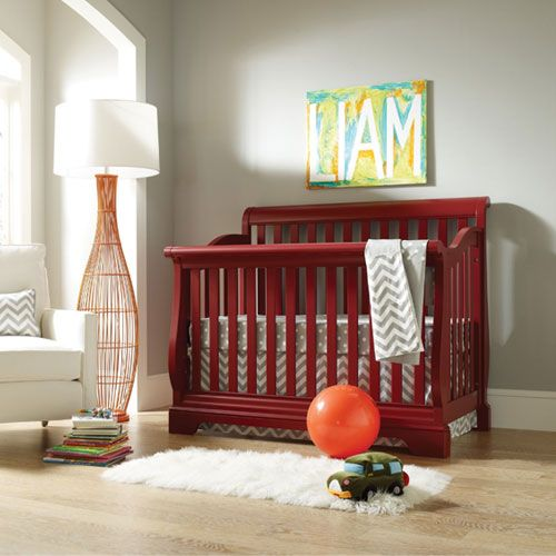 Mix and Match Built to Grow Convertible Sleigh Crib ...