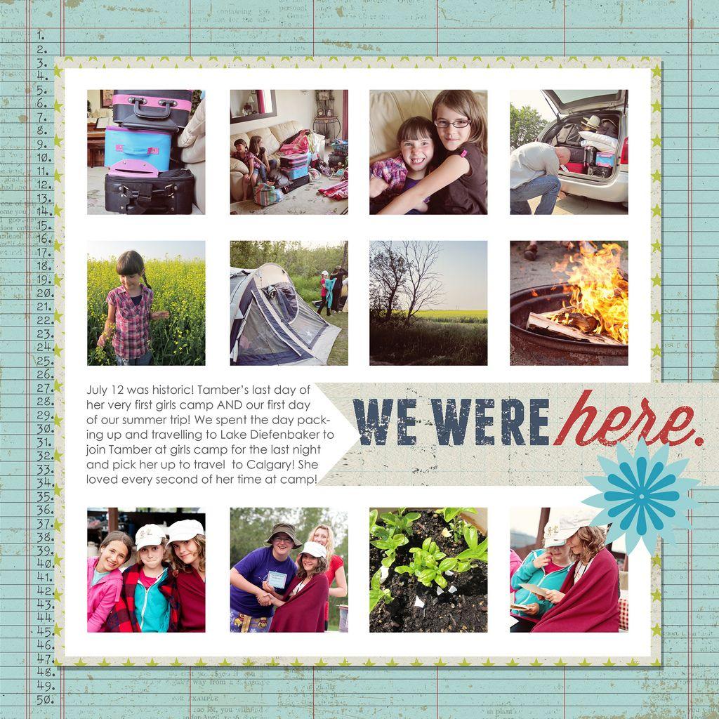 #papercraft #scrapbook #layout   take twelve project | Ella Publishing Co.