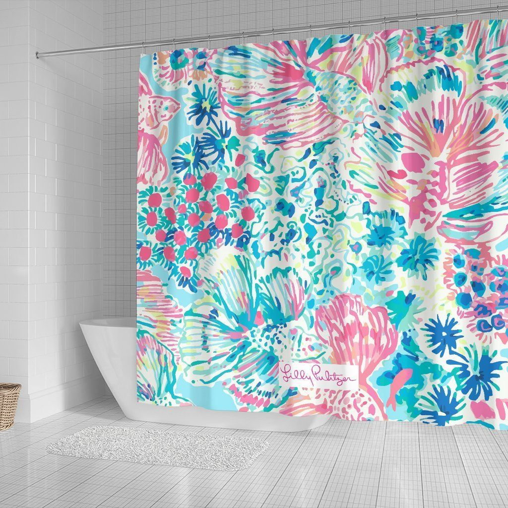 Gypsea Lilly Pulitzer Shower Curtains Shower Curtains Girls