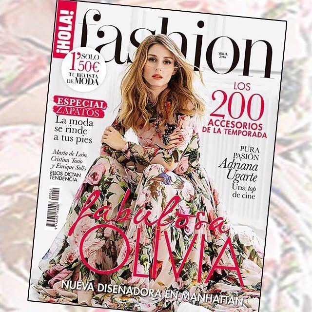 Esta semana a la venta el nuevo número de  H!FASHION con la fabulosa @OliviaPalermo en portada celebra la primavera junto a nosotros y no pierdas de vista todas las tendencias que vienen! #HFASHION #spring #flowers #itgirl #magazine by holafashion_es