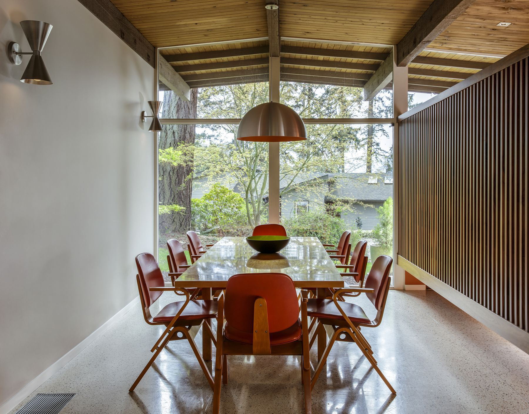 Remaking midcentury modern in portland modern dining chairs