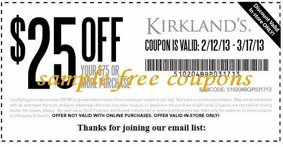 Printable Coupons Kirklands Coupons Printable Coupons Free Printable Coupons Kirkland Coupon